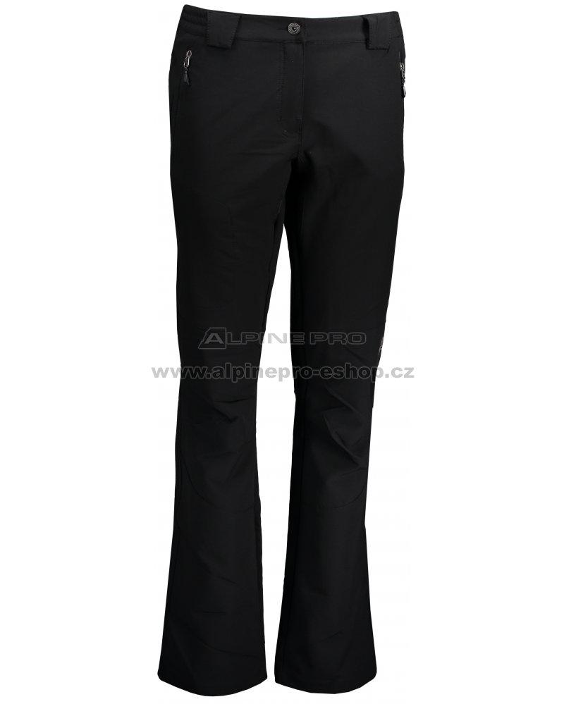 dcc38db81c8 Dámské softshellové kalhoty ALPINE PRO ALBA LPAM047 ČERNÁ velikost ...