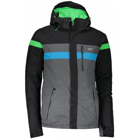Pánská zimní bunda ALPINE PRO BEND MJCM335 ČERNÁ