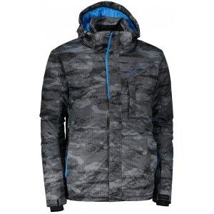 Pánská lyžařská bunda ALPINE PRO GLARNISH 4 MJCM307 ŠEDÁ