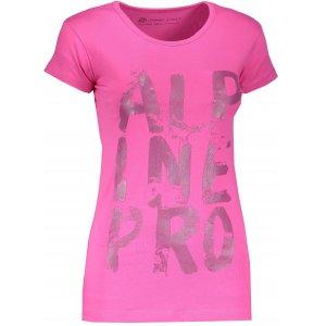 Dámské triko ALPINE PRO UNEGA 4 LTSM340 RŮŽOVÁ