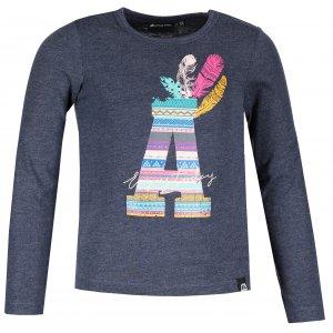 Dětské triko ALPINE PRO CASHO KTSM165 TMAVĚ MODRÁ