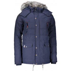 Pánská zimní bunda ALPINE PRO ICYB 4 MJCM284 TMAVĚ MODRÁ