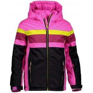 Dětská lyžařská bunda ALPINE PRO WIREMO 2 KJCM121 RŮŽOVÁ