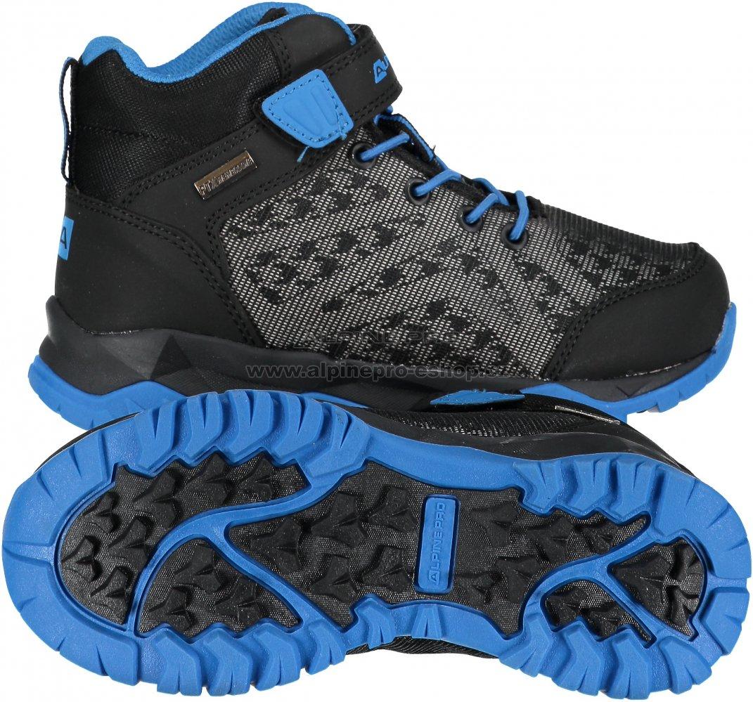 57ef3407e77f Dětská turistická obuv ALPINE PRO UGO KBTM171 MODRÁ velikost  29 ...