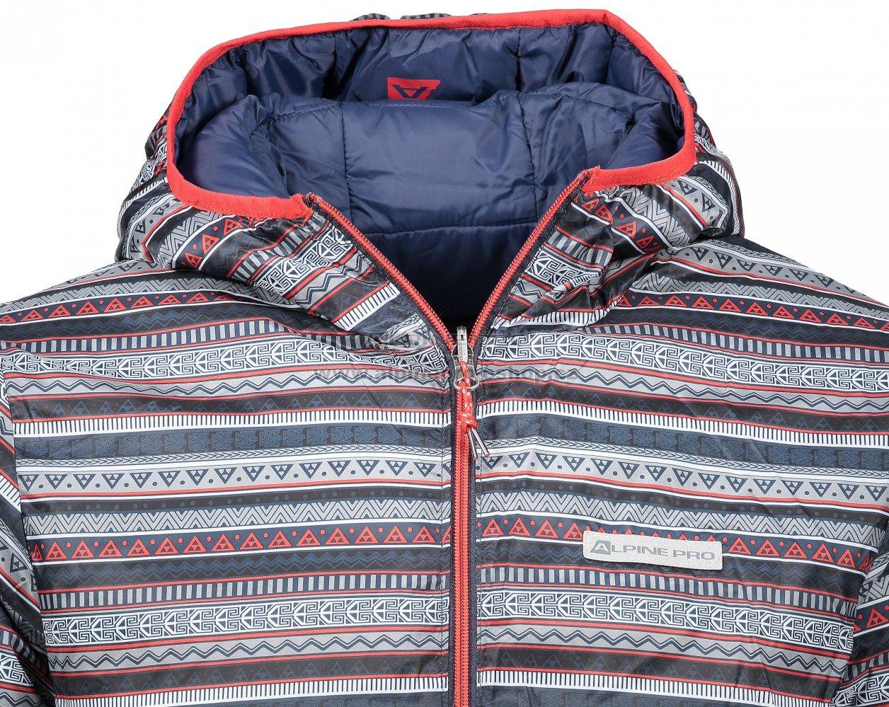 Pánská oboustranná bunda ALPINE PRO MUNSR 2 MJCM294 TMAVĚ MODRÁ ... 777bae13e49
