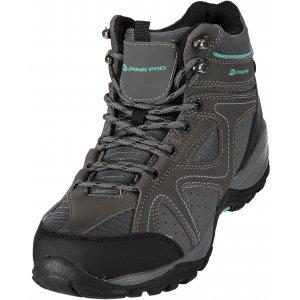 Dámská turistiká obuv ALPINE PRO CALA LBTM174 TMAVĚ ŠEDÁ 86939ce488
