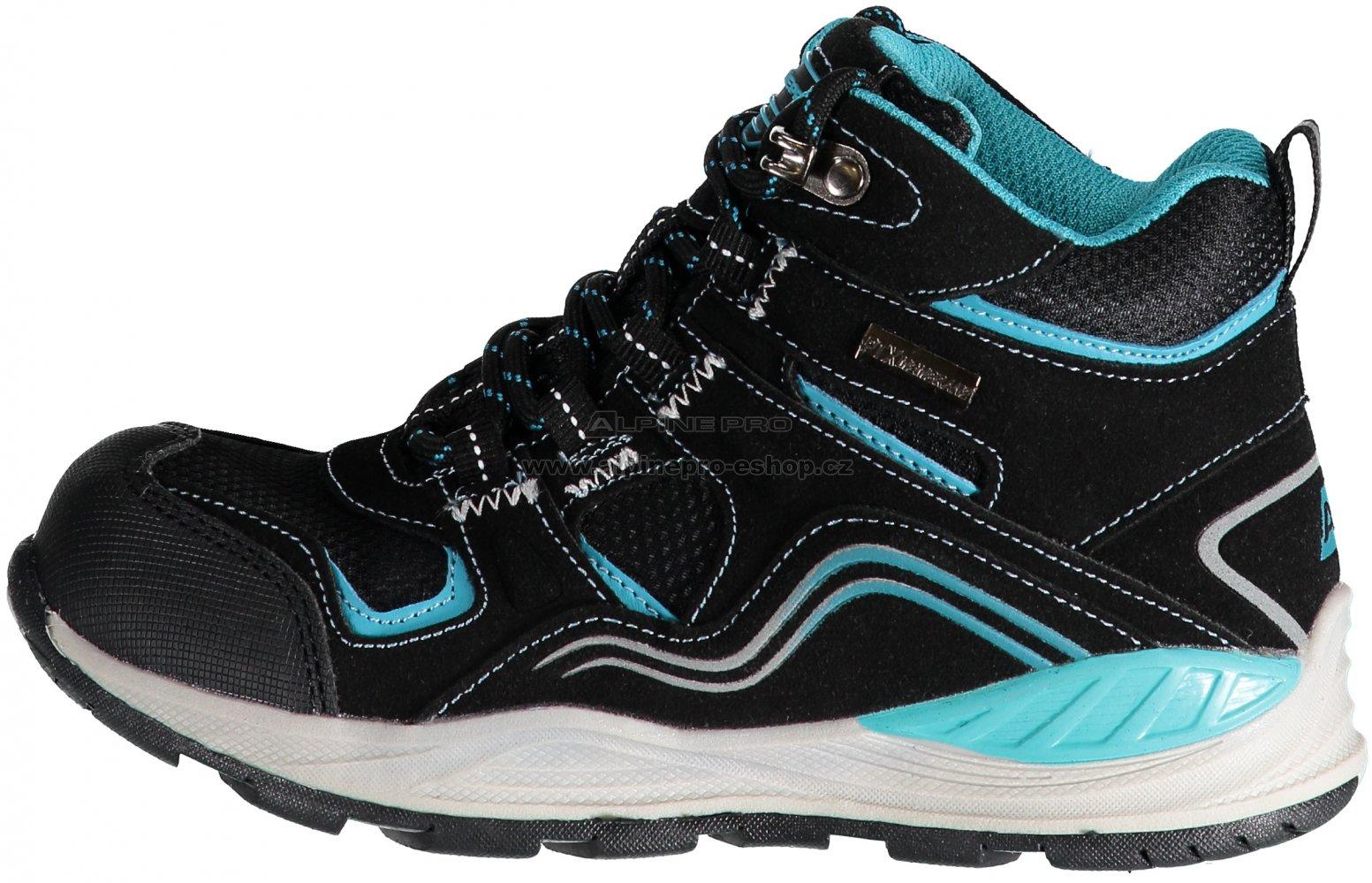 Dětská turistická obuv ALPINE PRO SIBEAL KBTM159 ČERNÁ velikost  29 ... 9f22dc9955