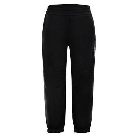 Dětské softshellové kalhoty ALPINE PRO TISBE 2 INS. KPAM095 ČERNÁ