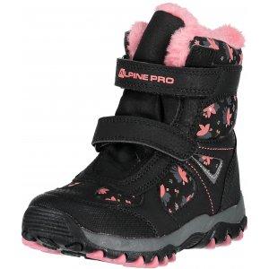 Dětské zimní boty ALPINE PRO WANO KBTM169 ČERNÁ 9e0f1938ac