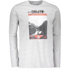 Pánské triko ALPINE PRO NASIR 2 MTSM304 SVĚTLE ŠEDÁ