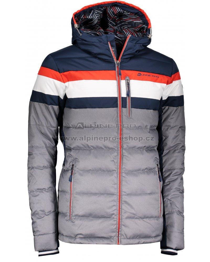 Pánská péřová bunda ALPINE PRO NEITH MJCM311 TMAVĚ MODRÁ velikost  L ... 60b288e9d3d