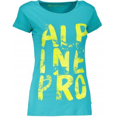 Dámské triko ALPINE PRO UNEGA 4 LTSM340 MODRÁ