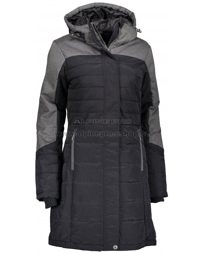 Dámský zimní kabát ALPINE PRO TESSA 2 LCTM061 ČERNÁ velikost  S ... 2c5493d1f1d