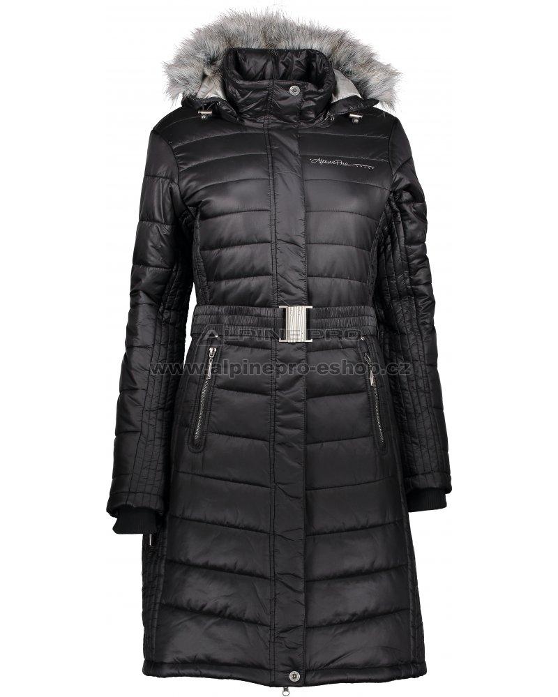 47b63f6e8f9 Dámský zimní kabát ALPINE PRO THERESE 3 LCTM063 ČERNÁ velikost  L ...