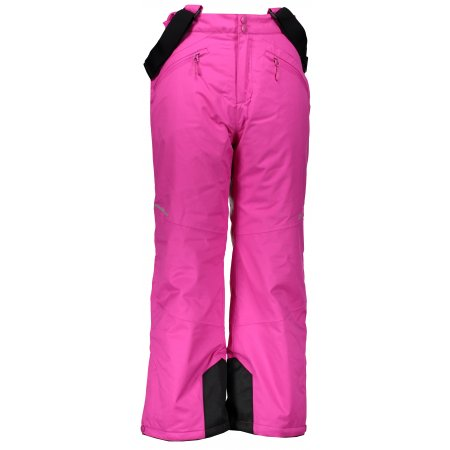 Dětské lyžařské kalhoty ALPINE PRO ANIKO 2 KPAM122 RŮŽOVÁ