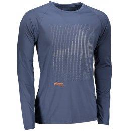 Pánské triko ALPINE PRO VALD 2 MTSM303 TMAVĚ MODRÁ