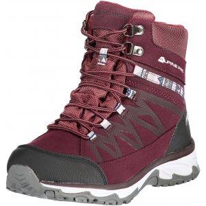 Dámská zimní obuv ALPINE PRO CAZA LBTM186 TMAVĚ RŮŽOVÁ ac9c808923