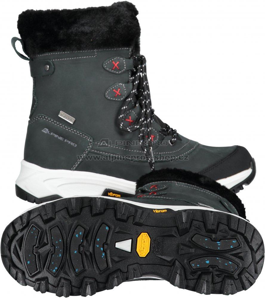 Dámské zimní boty ALPINE PRO ANAHITA LBTM181 ČERNÁ velikost  EU 39 ... ab3277e558e