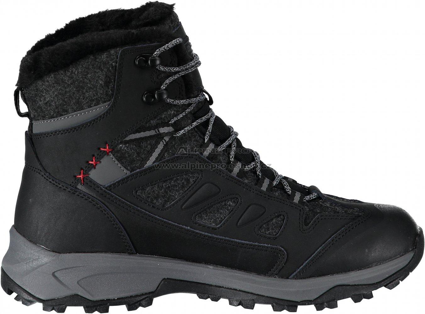 Pánské zimní boty ALPINE PRO ALTAIR MBTM155 ČERNÁ velikost  EU 41 ... 7a92277d6e
