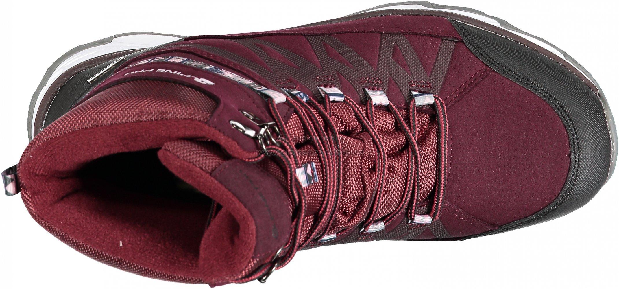 c2339442ed0 Dámská zimní obuv ALPINE PRO CAZA LBTM186 TMAVĚ RŮŽOVÁ velikost  EU ...