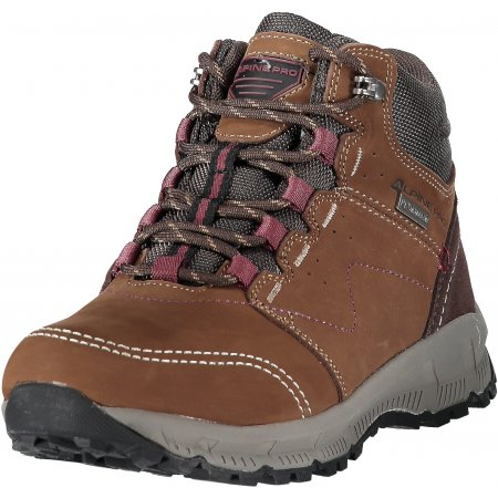Dámské zimní boty ALPINE PRO ERELA LBTM178 HNĚDÁ