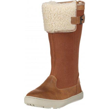 Dámské zimní boty ALPINE PRO NOELA LBTM183 SVĚTLE HNĚDÁ