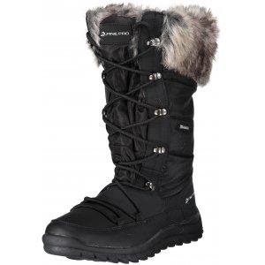 Dámské zimní boty ALPINE PRO LASSA LBTM185 ČERNÁ d467e736c2