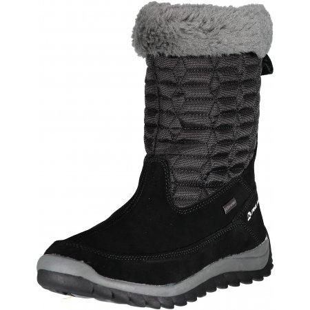 Dámské zimní boty ALPINE PRO PORTIA LBTM184 ČERNÁ