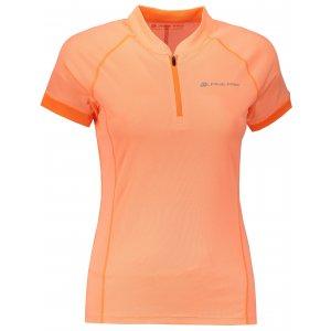 Dámské funkční tričko s krátkým rukávem ALPINE PRO SORANA LTSN412 ORANŽOVÁ