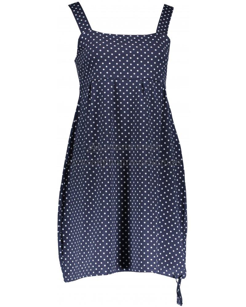 dccf86e753aa Dámské šaty ALPINE PRO ZOBIA LSKN191 MODRÁ velikost  XS   ALPINEPRO ...