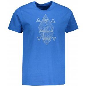 Pánské tričko s krátkým rukávem ALPINE PRO AMIT 6 MTSN365 MODRÁ