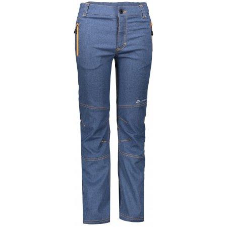 Dětské softshellové kalhoty ALPINE PRO PLATAN 3 KPAN130 MODRÁ