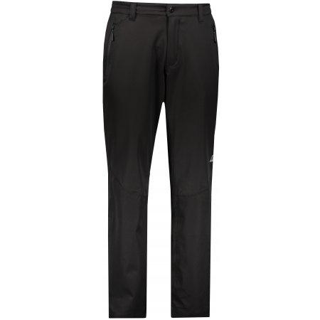 Pánské softshellové kalhoty ALPINE PRO OLWEN 2 MPAN280 ČERNÁ
