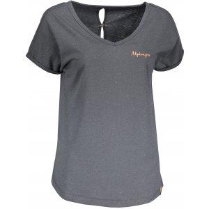 Dámské tričko s krátkým rukávem ALPINE PRO ATTALA 5 LTSN425 ŠEDÁ