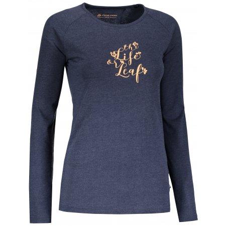 Dámské tričko ALPINE PRO MAUGERA 2 LTSN422 MODRÁ