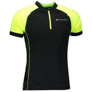 Pánské funkční tričko s krátkým rukávem ALPINE PRO SORAN MTSN351 ČERNÁ