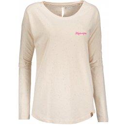 Dámské triko s dlouhým rukávem ALPINE PRO MALA 3 LTSN423 BÉŽOVÁ