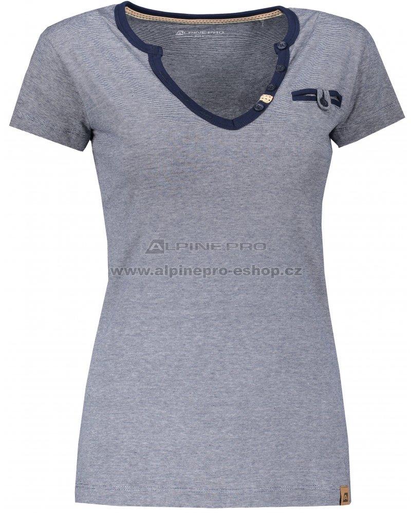 29925f176b1e Dámské tričko s krátkým rukávem ALPINE PRO ROPERA 3 LTSN426 MODRÁ ...