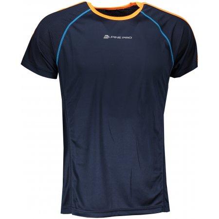 Pánské funkční tričko s krátkým rukávem ALPINE PRO DIEGO 2 MTSN358 TMAVĚ MODRÁ
