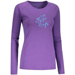 Dámské tričko ALPINE PRO MAUGERA 2 LTSN422 FIALOVÁ