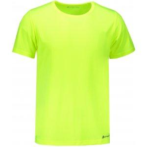 Pánské funkční tričko s krátkým rukávem ALPINE PRO NASMAS 2 MTSN265 ŽLUTÁ