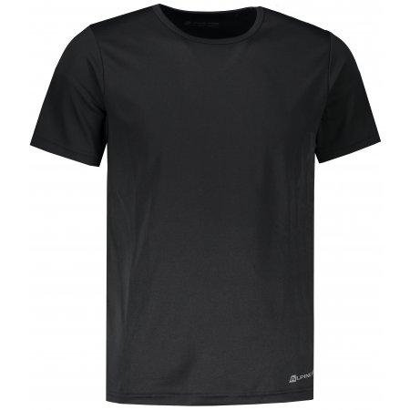 Pánské funkční tričko s krátkým rukávem ALPINE PRO NASMAS 2 MTSN265 ČERNÁ