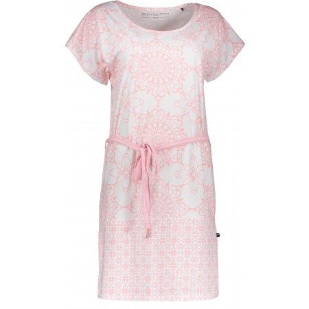 Dámské šaty ALPINE PRO GABBA LSKN135 RŮŽOVÁ