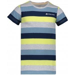Dětské tričko s krátkým rukávem ALPINE PRO PENSIERO 4 KTSN153 ŽLUTÁ