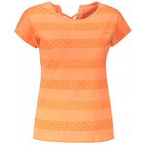 Dámské triko s krátkým rukávem ALPINE PRO WELA LTSN496 ORANŽOVÁ