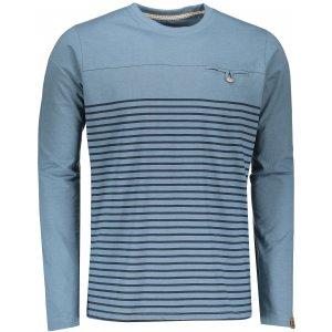 Pánské triko s dlouhým rukávem ALPINE PRO PERKOS 4 MTSN360 MODRÁ