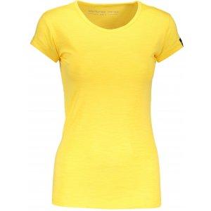 Dámské triko s krátkým rukávem ALPINE PRO ESKA LTSN546 ŽLUTÁ
