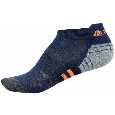 Dětské ponožky ALPINE PRO DONO KSCN015 TMAVĚ MODRÁ