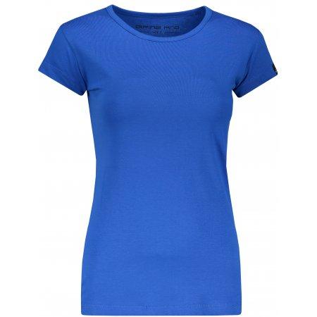 Dámské triko s krátkým rukávem ALPINE PRO KREJA LTSN564 MODRÁ