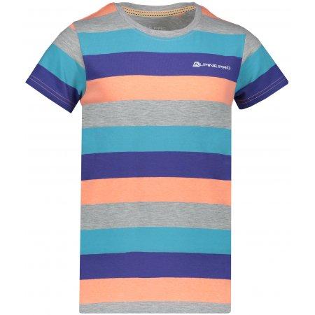 Dětské tričko s krátkým rukávem ALPINE PRO PENSIERO 4 KTSN153 ORANŽOVÁ